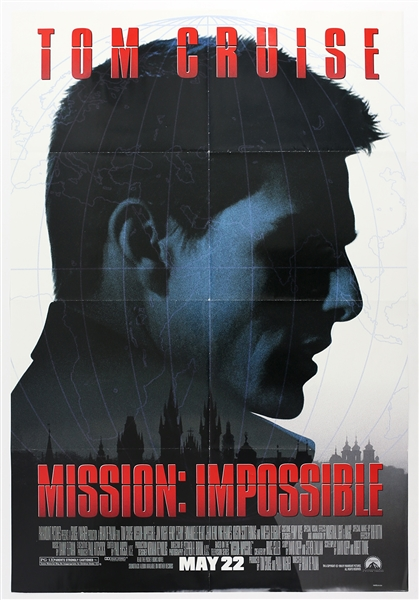 "1996 Mission: Impossible 27""x 40"" Film Poster"