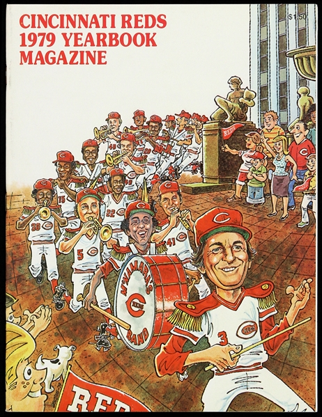 1979 Cincinnati Reds Yearbook Magazine
