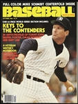 1980 Tommy John New York Yankees Baseball Magazine