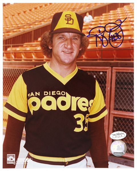 1973-80 Randy Jones San Diego Padres Autographed 8x10 Color Photo *JSA*