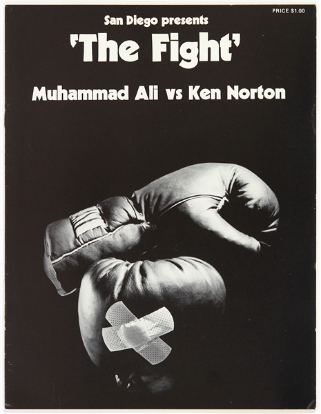 1973 (March 31) Muhammad Ali Ken Norton Heavyweight Title Fight Program