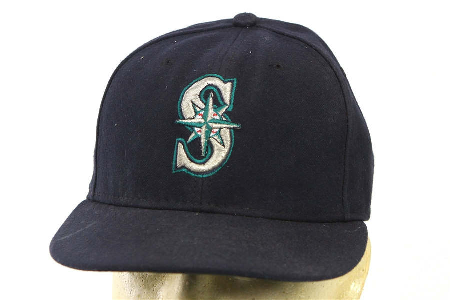 2011 Justin Smoak Seattle Mariners Game Worn Cap (MEARS LOA/MLB Hologram)