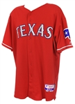 2010 (May 7) Justin Smoak Texas Rangers Game Worn Alternate Jersey (MEARS LOA/MLB Hologram)
