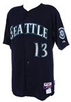 2013 Dustin Ackley Seattle Mariners Game Worn Alternate Jersey (MEARS LOA/MLB Hologram)