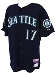 2012 (September 29) Justin Smoak Seattle Mariners Game Worn Alternate Jersey (MEARS LOA/MLB Hologram)