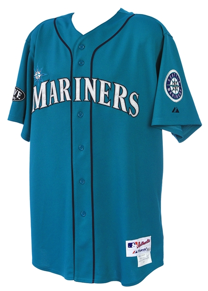 2011 (June 3) Justin Smoak Seattle Mariners Signed Game Worn Alternate Jersey (MEARS LOA / JSA / MLB Hologram) Home Run Jersey