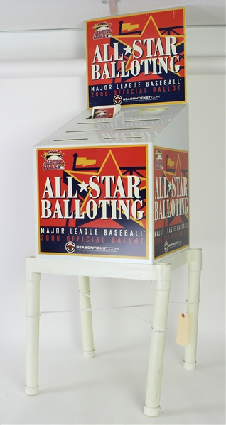 2000 Major League Baseball Official Ballot Box