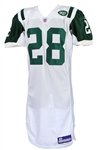 2003 Curtis Martin New York Jets Road Jersey (MEARS A5)