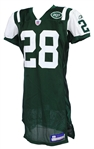 2005 Curtis Martin New York Jets Signed Home Jersey (MEARS A5/JSA)