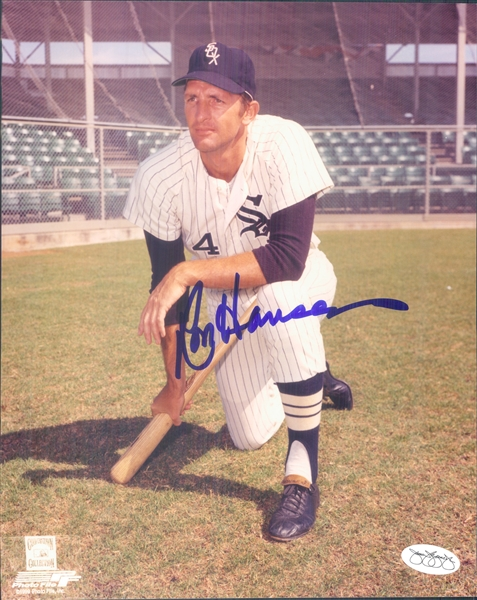"1963-68 Ron Hansen Chicago White Sox Signed 8"" x 10"" Photo (*JSA*)"