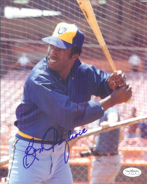 "1978-86 Ben Oglivie Milwaukee Brewers Signed 8"" x 10"" Photo (*JSA*)"