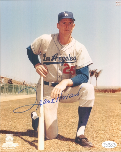 "1958-64 Frank Howard Los Angeles Dodgers Signed 8"" x 10"" Photo (*JSA*)"