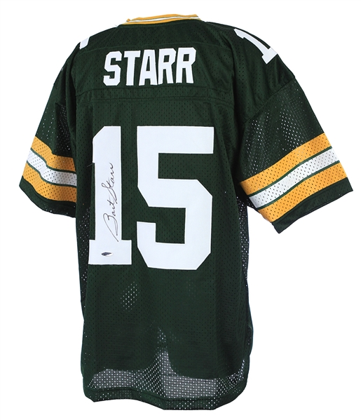 2000s Bart Starr Green Bay Packers Signed Jersey (TriStar)