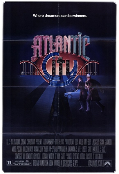 "1980 Atlantic City 27""x 41"" Movie Poster"
