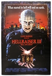 "1992 Hellraiser III: Hell on Earth 27""x 41"" Film Poster"