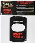 "1990 Basket Case 2 12""x 19"" Film Display"