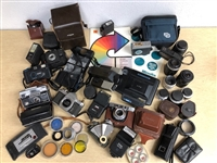 1950s-1970s Vintage Camera Collection (Lot of 50+)