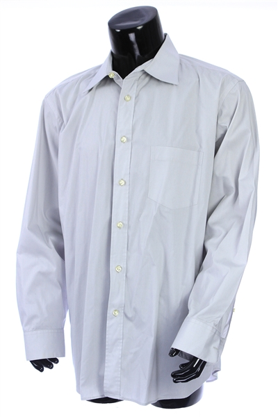 2000s William Shatner Worn Carducci Long Sleeve Button Up Shirt (Shatner LOA/MEARS LOA)