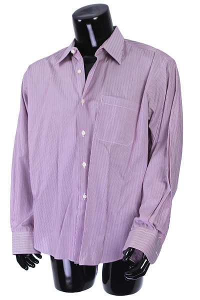 2000s William Shatner Worn Carroll & Co. Long Sleeve Button Up Shirt (Shatner LOA/MEARS LOA)