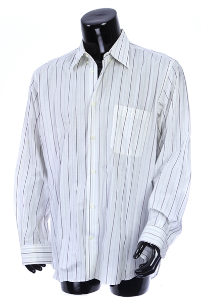 2000s William Shatner Worn Pavone Long Sleeve Button Up Shirt (Shatner LOA/MEARS LOA)