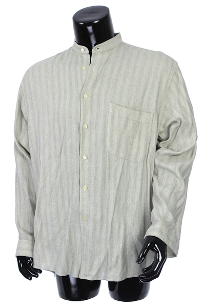 2000s William Shatner Worn Linea Dome Long Sleeve Button Up Shirt (Shatner LOA/MEARS LOA)