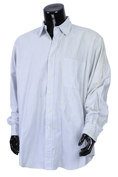 2000s William Shatner Worn Ralph Lauren Long Sleeve Button Up Shirt (Shatner LOA/MEARS LOA)
