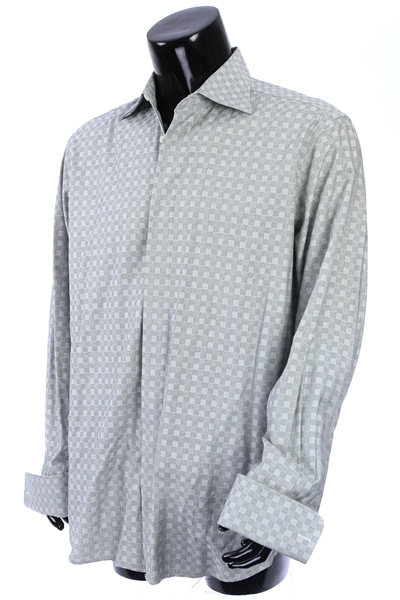 2000s William Shatner Worn Medici Long Sleeve Button Up Shirt (Shatner LOA/MEARS LOA)