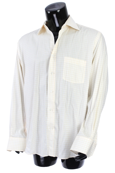 2000s William Shatner Worn Vierri Long Sleeve Button Up Shirt (Shatner LOA/MEARS LOA)