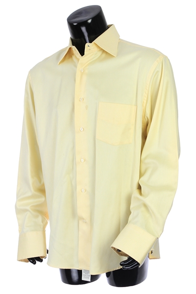 2000s William Shatner Worn Studio 1000 by Antonio Long Sleeve Button Up Shirt (Shatner LOA/MEARS LOA)