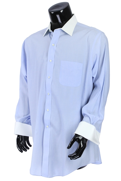 2000s William Shatner Worn Brooks Brothers Long Sleeve Button Up Shirt (Shatner LOA/MEARS LOA)