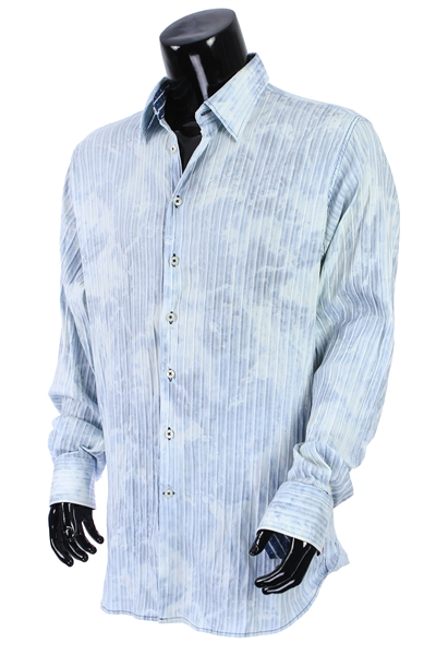 2000s William Shatner Worn Georg Roth Long Sleeve Button Up Shirt (Shatner LOA/MEARS LOA)