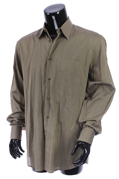 2000s William Shatner Worn Artioli Long Sleeve Button Up Shirt (Shatner LOA/MEARS LOA)
