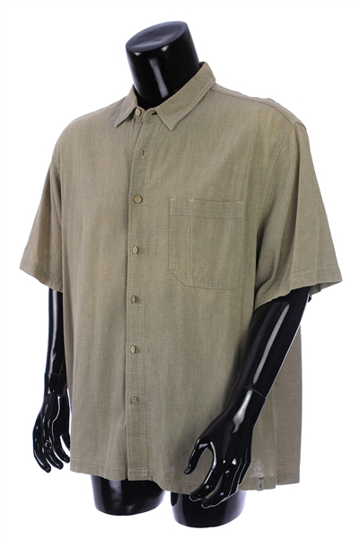 2000s William Shatner Worn Royal Robbins Short Sleeve Button Up Shirt (Shatner LOA/MEARS LOA)