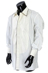 2000s William Shatner Worn Anto Long Sleeve Button Up Tuxedo Shirt (Shatner LOA/MEARS LOA)