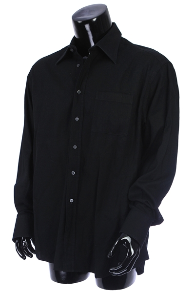 2000s William Shatner Worn Gucci Long Sleeve Button Up Shirt (Shatner LOA/MEARS LOA)