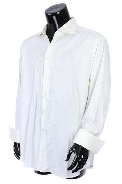 2000s William Shatner Worn Canali Long Sleeve Button Up Shirt (Shatner LOA/MEARS LOA)