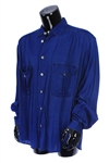 2000s William Shatner Worn Armani Jeans Long Sleeve Button Up Shirt (Shatner LOA/MEARS LOA)