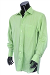 2000s William Shatner Worn Aquarius Long Sleeve Button Up Shirt (Shatner LOA/MEARS LOA)