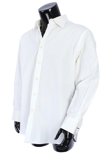 2000s William Shatner Worn Paul Smith Long Sleeve Button Up Shirt (Shatner LOA/MEARS LOA)