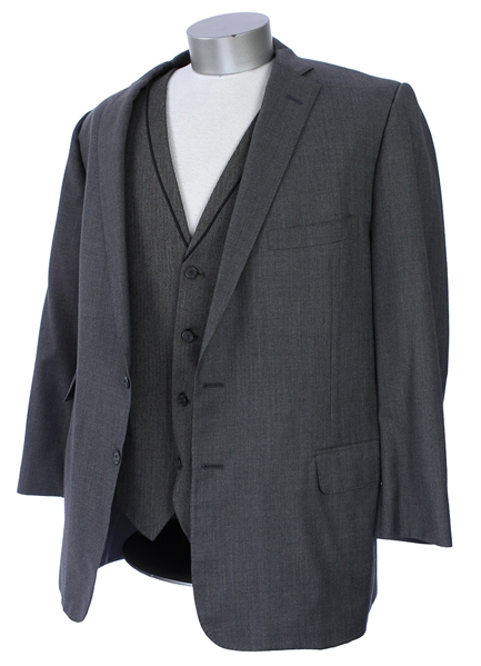 2000s William Shatner Worn Royal Classic Sport Coat w/ International Concepts Vest (Shatner LOA/MEARS LOA)