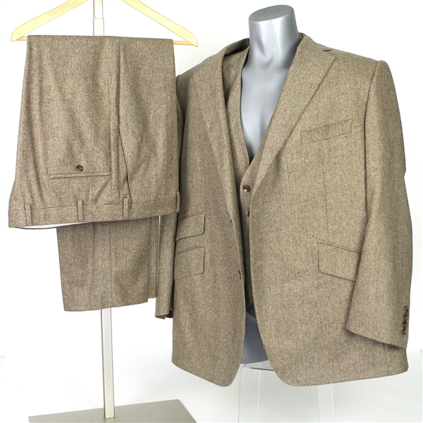 2000s William Shatner Worn Carroll & Co. Full Suit w/ Sport Coat, Vest & Pants (Shatner LOA/MEARS LOA)