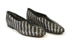 1980s William Shatner Worn Jean Paul Gauthier pour Stephane Kelian Woven Leather Loafers (Shatner LOA/MEARS LOA)
