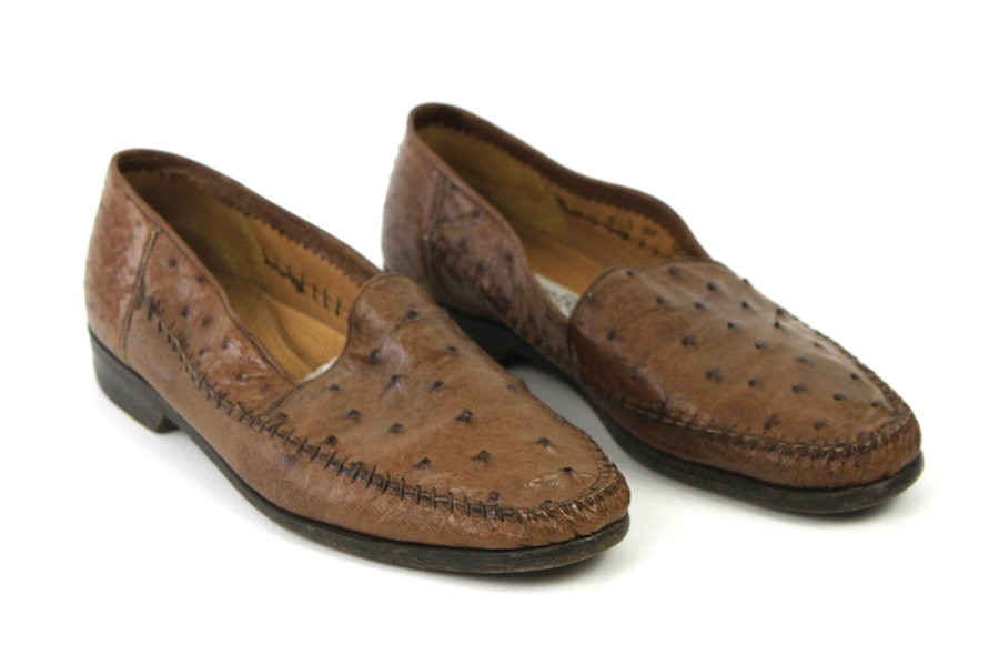 1980s William Shatner Worn Lorenzo Banfi Leather Loafers (Shatner LOA/MEARS LOA)