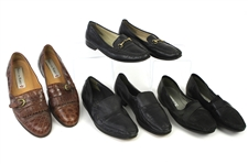 1990s William Shatner Worn Leather Loafer Collection - Lot of 4 Pairs w/ Paolo de Marco, Bally & Lorenzo Banfi (Shatner LOA/MEARS LOA)