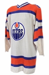 1974-75 Bill Morris Edmonton Oilers Game Worn Home Jersey (MEARS A10)