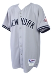 2003 Derek Jeter New York Yankees Game Worn Road Jersey (MEARS A10/Steiner)