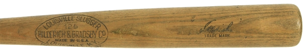 1929-31 Ad Liska Washington Senators H&B Louisville Slugger Professional Model Game Used Bat (MEARS A6.5)