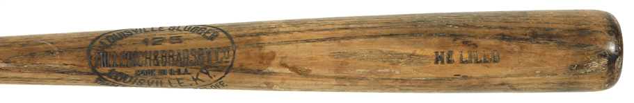 1926-31 Ski Melillo St. Louis Browns H&B Louisville Slugger Professional Model Game Used Bat (MEARS LOA)