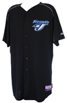 2009 Wade Miller Toronto Blue Jays Spring Training Jersey (MEARS LOA)