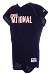 2000 Ryan Dempster Florida Marlins All Star Game Batting Practice Jersey Vest (MEARS LOA)